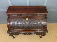 Maple and Co. Large Mahogany Cylinder Desk (11 of 25)