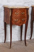 Very Nice Pair of Bow Front & Side Bedsides (2 of 10)