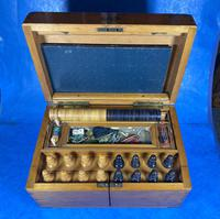 Victorian Pine Partially Fitted Games Box (18 of 32)