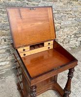 Regency Rosewood Davenport Desk (7 of 26)