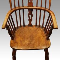 Set of 6 19th Century Windsor Armchairs (6 of 6)