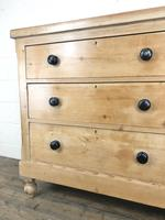 Antique Victorian Pine Chest of Drawers (6 of 9)
