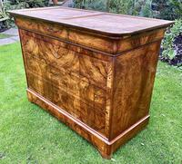 Burr walnut Louis Philippe commode (3 of 13)