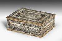 Early 19th Century Vizagapatam Bone Box