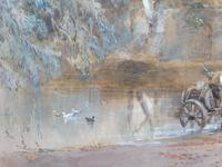 Watercolour English Countryside Listed Artist Henry Earp Senior (4 of 10)