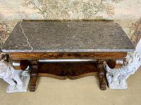 19th Century Burr Walnut Console Table (4 of 8)