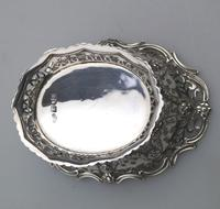 Extremely Good Solid Silver Pierced Basket / Bowl by Golds c.1899 (9 of 10)