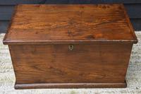Lovely 19th Century Elm Box / Chest / Blanket Box c.1830 (3 of 13)