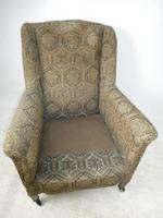 1900's Wing Armchair (7 of 8)