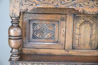 Dwarf Oak Court Cupboard (6 of 13)