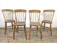 Set of Four Mix & Match Farmhouse Chairs (6 of 9)