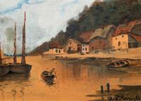Wonderful Original 19th Century Antique Seascape Landscape Watercolour Painting (4 of 12)