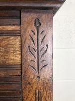 Early 20th Century Antique Oak Dresser (4 of 16)