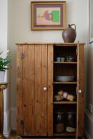Tall Antique Pine Pantry Cupboard (3 of 15)