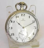 1920s Omega Silver Pocket Watch (2 of 5)