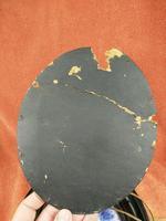 Rare Antique Royal Doulton Blue & White Mother & Girl Framed Oval Plaque C1910 (8 of 12)