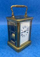 Victorian 8 Day  Brass Carriage Clock (13 of 13)