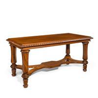 Mahogany Centre Table from Clumber Park, seat of the 7th Duke of Newcastle