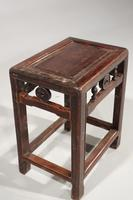 Well Carved Early 20th Century Small Stool / Table (2 of 2)