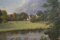 Richard Hilditch Mid 19thC 'Cambridge Meadow, Richmond' (2 of 4)