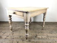 Rustic Antique Pine Farmhouse Kitchen Table (11 of 12)