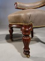 A Fine Pair of Mid 19th Century Desk or Library Chairs (7 of 8)