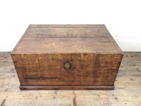 19th Century Oak Box Belonging to Henry Hanmer MP (2 of 16)