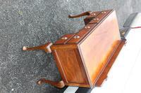 1940s Mahogny Pedestal Desk on Cab Legs '1 Piece' (4 of 4)