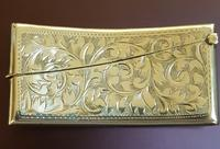 Antique Sterling Silver Card Case (2 of 3)