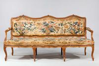Louis XV Beech Framed Sofa (3 of 5)