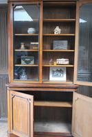 English Oak & Ebonised Bookcase c.1870 (8 of 8)