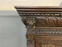 Imposing Carved Oak Bookcase (8 of 23)