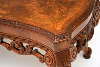 Antique Burr Walnut Coffee Table (8 of 9)