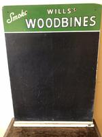 Vintage Advertising Sign - Will's Chalkboard - Will's Woodbines - Home Pub (5 of 7)