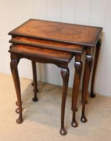 1930s Walnut Nest Of Tables (7 of 10)