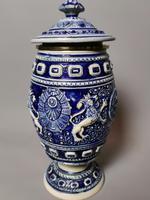 Antique Tobacco Jar, Westerwald, 19th Century (9 of 13)