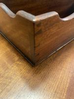 19th Century Mahogany Cutlery Tray (5 of 11)