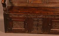 Antique Oak Settle (6 of 11)