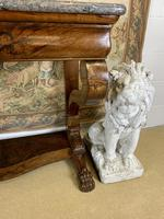 19th Century Burr Walnut Console Table (2 of 8)