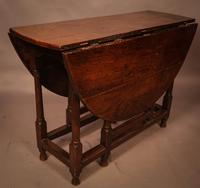 17th Century Gate Leg Dining Table (6 of 8)