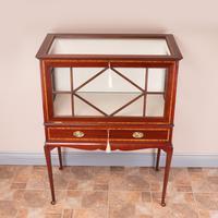 Inlaid Mahogany Display Cabinet (5 of 12)