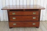 Antique French Drapers Chest of Drawers (10 of 13)