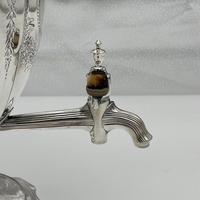 Antique George III Sterling Silver Tea Urn London 1796 Peter & Ann Bateman (11 of 12)