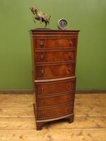 Narrow Antique Reproduction Reprodux Chest of Drawers by Bevan Funnell (7 of 14)