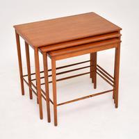 Danish Vintage Teak Nest of Tables by Grete Jalk (4 of 11)