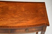 Antique Regency Style Mahogany Console Table (5 of 9)