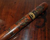 Antique Rosewood Painted Police Truncheon (3 of 5)