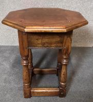 Oak Octagonal Occasional Table - Siesta Furniture (3 of 7)