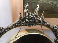 Foliage Design Brass Table Gong (2 of 5)