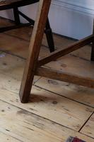 Late 18th Century Oak Cricket Table (6 of 20)